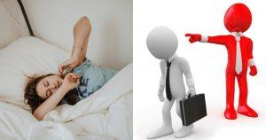 Ngủ mơ thấy ở nhà vì bị thất nghiệp